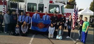 Hemlock's Students Leading Students attend 9/11 Memorial