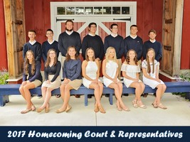 2017 Homecoming Reps & Court