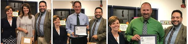Hemlock Honors National Principal Month
