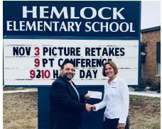 Hemlock Grows in Environmental Stewardship