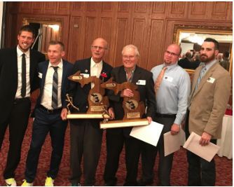 Hemlock Cross Country Inducted into Hall of Fame