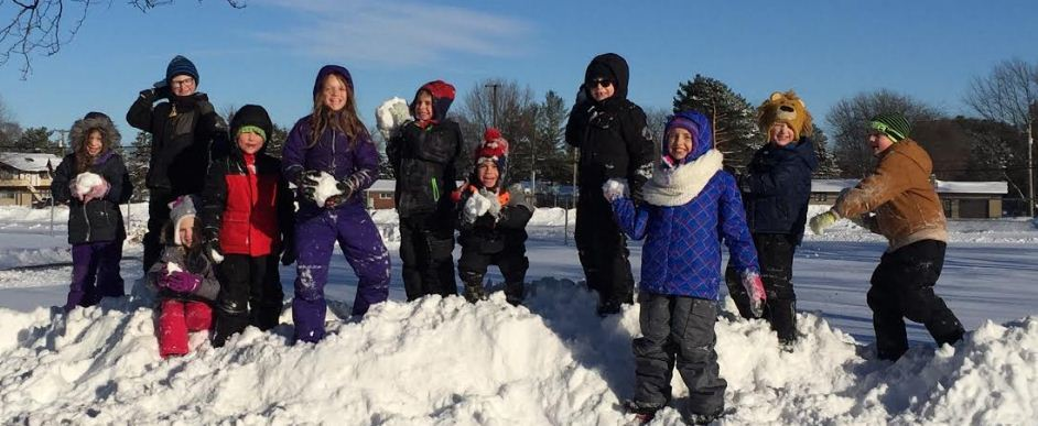 Snow Day Fun-Childcare Remains Open