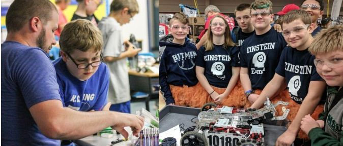 Hemlock STEM/ROBOTICS  Awarded Saginaw Community Foundation Grant
