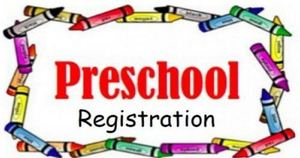 PRESCHOOL- ONLINE PRE-REGISTRATION AVAILABLE FEBRUARY 2ND, 2018