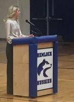 Overcoming Adversity Elizabeth Smart Speaks to Hemlock High School