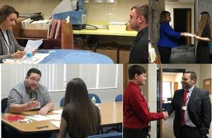 Students Mock Interviews