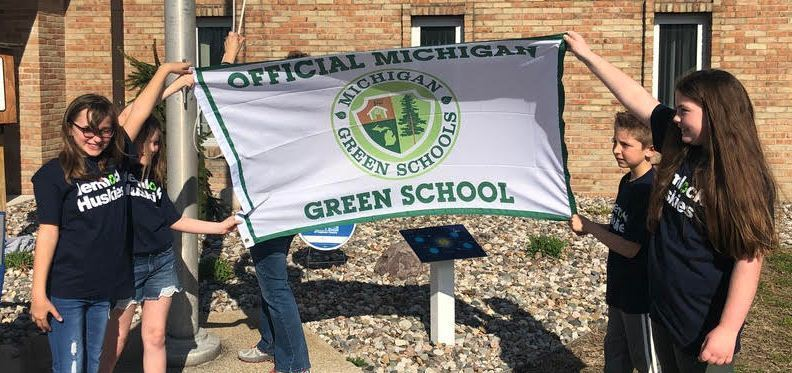 Hemlock Awarded the Green School Flag
