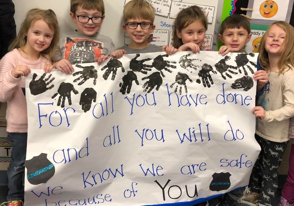 Hemlock Students Celebrate Law Enforcement Appreciation Week
