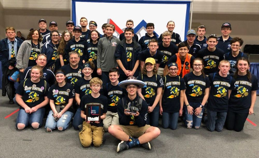 Hemlock Robotics Receive Imagery Award