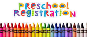 Preschool-REGISTRATION OPENS 2-8-2021