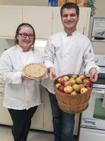 Culinary Arts Students Roll out Apple Pies Thanks to Local Donors