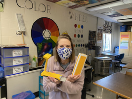 Art Teacher Receives Internal Grant Award