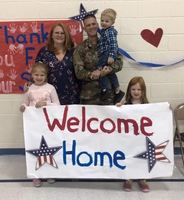 Hemlock Welcomes Home Dad