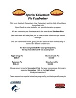 Special Education Pie Fundraiser
