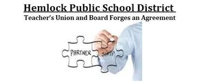 Hemlock Teacher's Union and Board Forges Agreement