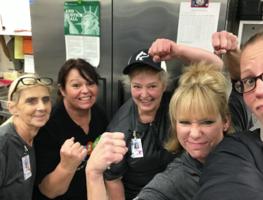 Right Focus, Right Results, Lunch Ladies Rule!
