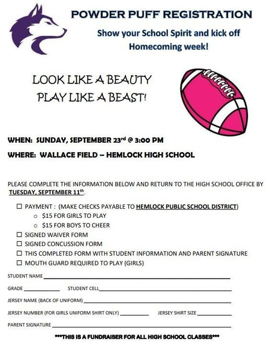 Powderpuff Registration