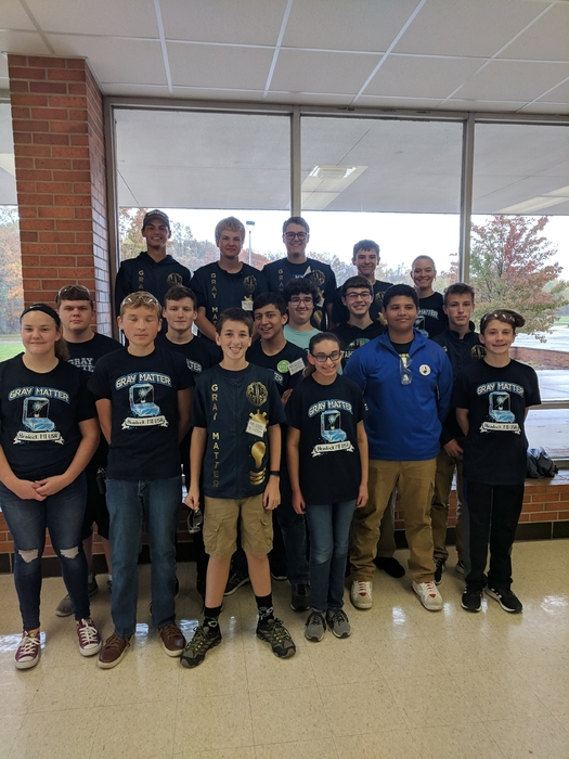 Hemlock's Gray Matter robotics team