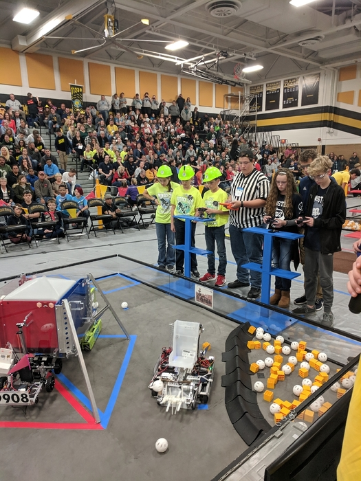 Hemlock Middle School Robotics.