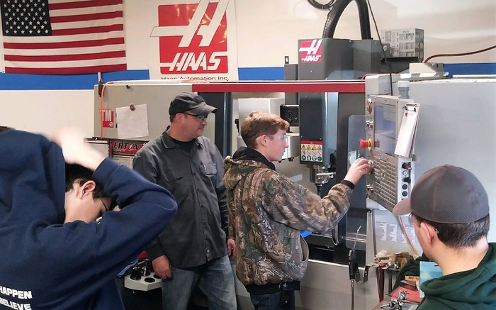 Students Learn HAAS Mill.