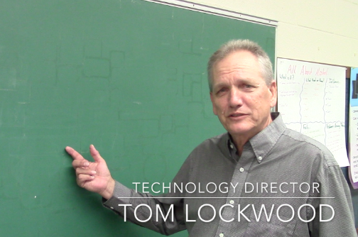 Tech Director Tom Lockwood