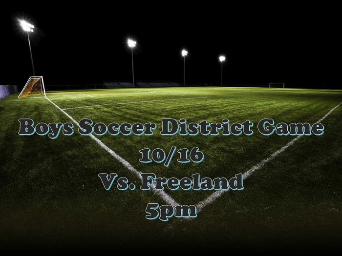 soccer district game