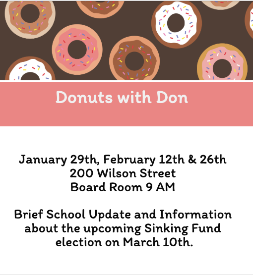 Donuts with Don