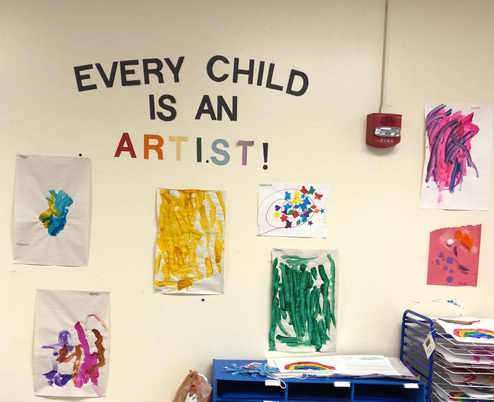 Every child is an artist!