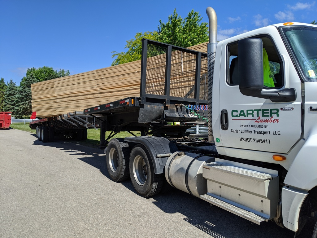 Carter Lumber Delivers